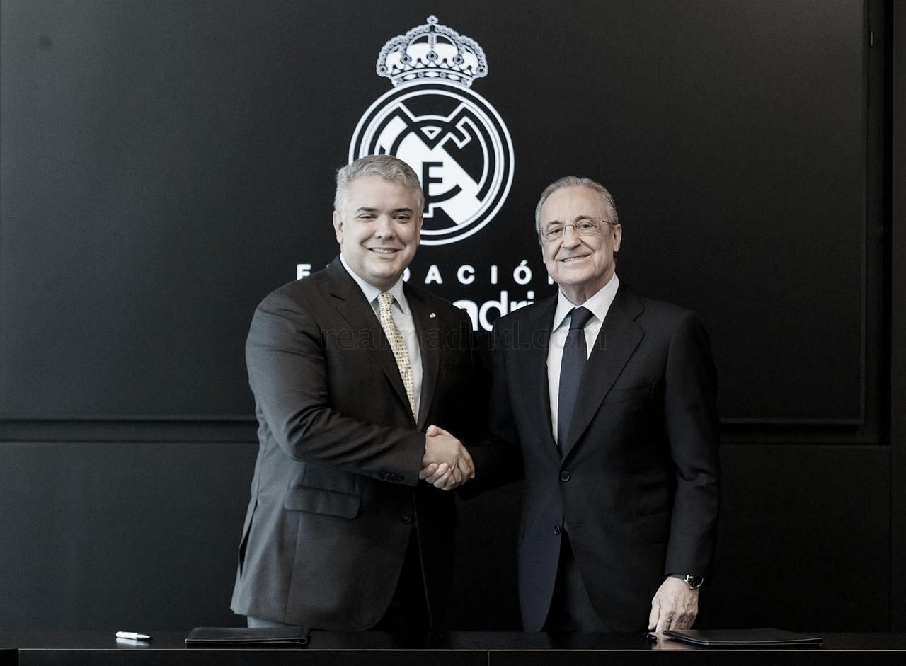 Iván Duque, presidente de Colombia, aterriza en Madrid