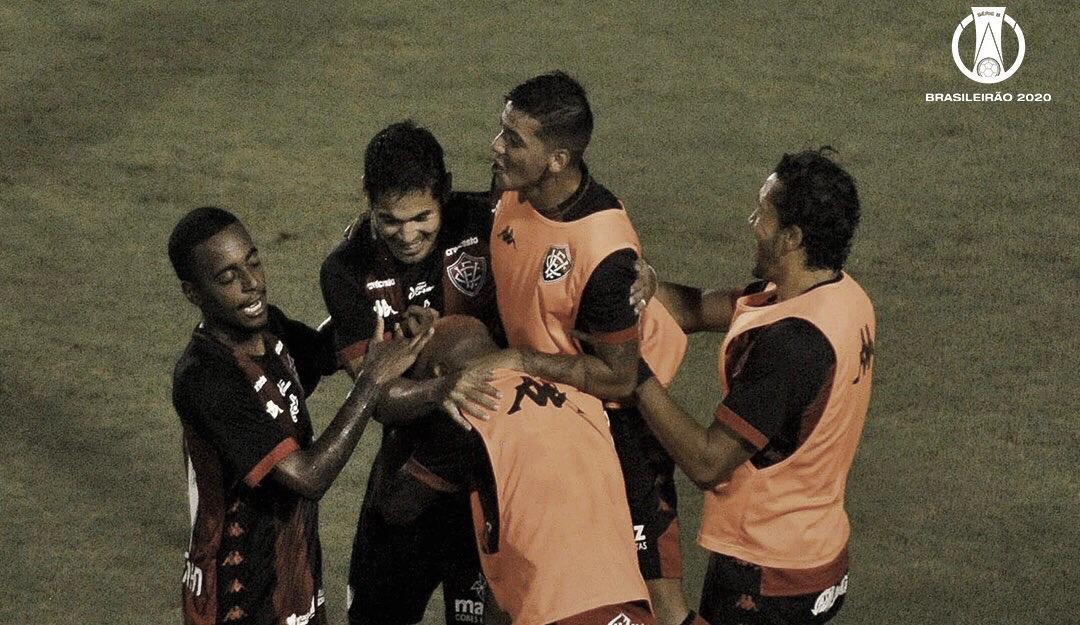 Com gol de Léo Ceará, Vitória bate Paraná e acaba com sequência de empates na Série B