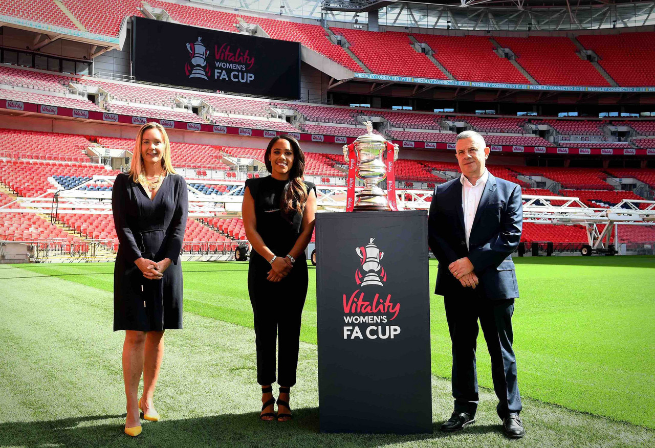 Vitality named new sponsor of the Women's FA Cup