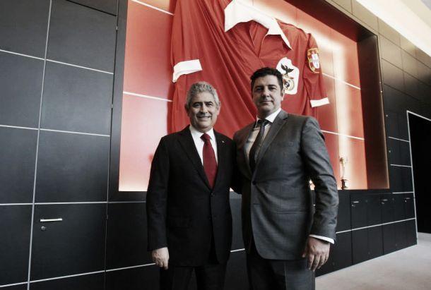 Oficial: Rui Vitória apresentado como novo treinador do Benfica