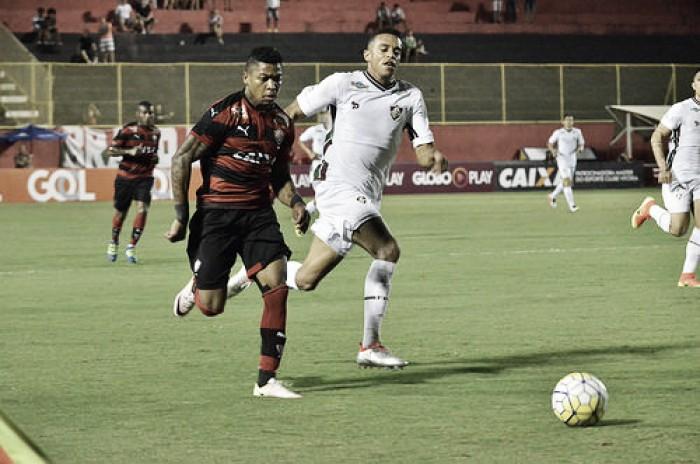 Vitória para em Cavalieri e partida com Fluminense termina sem gols