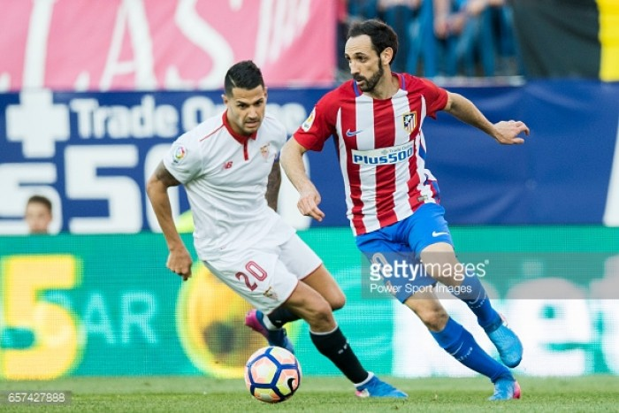 Atletico Madrid sign Sevilla's Vitolo despite registration ban