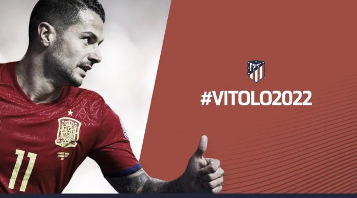 L'Atletico Madrid annuncia Vitolo dal Siviglia