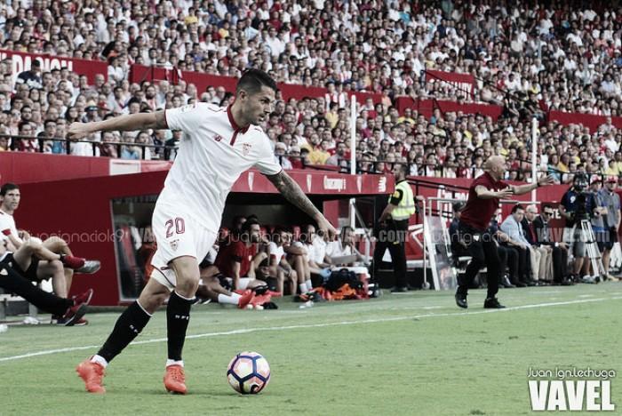 """Vitolo: """"En el Sevilla he aprendido a ser más ambicioso"""""""