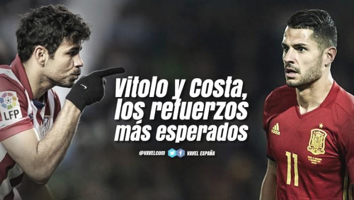 Guía VAVEL Atlético de Madrid 2017/18: Vitolo y Costa, los refuerzos más esperados
