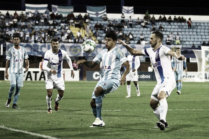 """Atacante Vitor comenta empate contra Oeste: """"Não faltou apetite"""""""