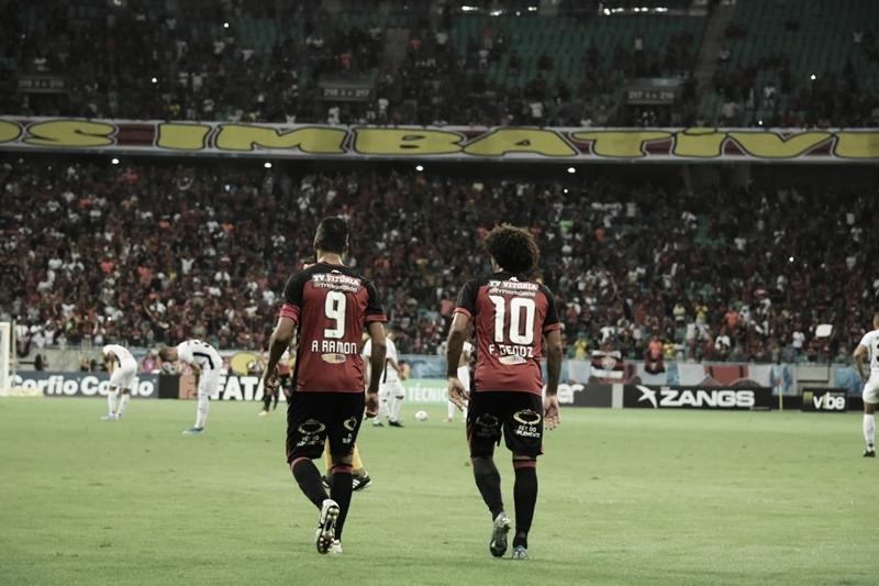 Vitória sai na frente, mas Sport consegue empate no final pela Série B