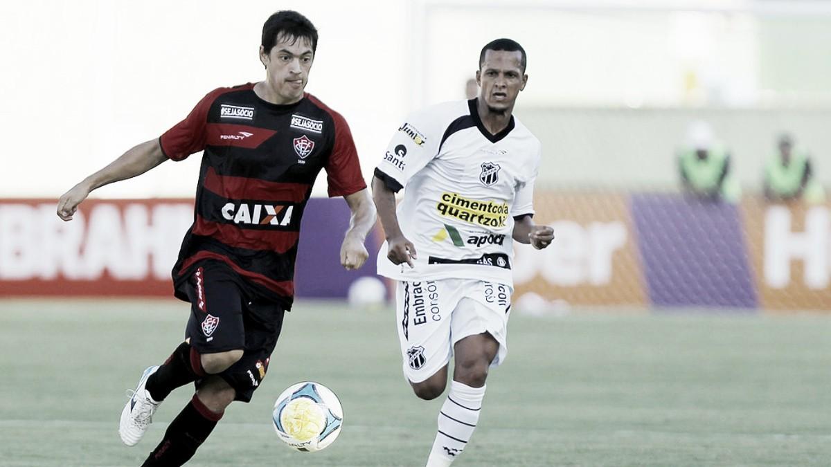 Dentro do Z-4, Vitória e Ceará fazem clássico nordestino no Brasileirão