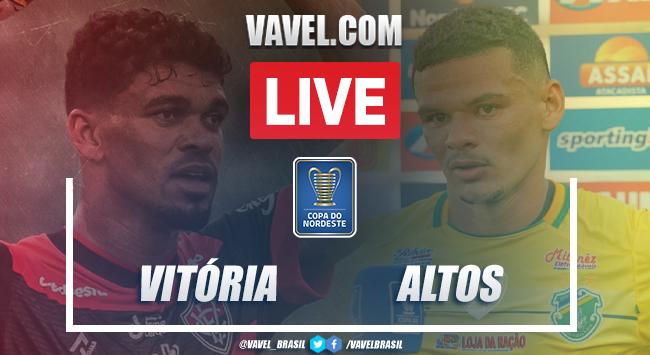Gols e melhores momentos de Vitória 2x1 Altos pela Copa do Nordeste 2021