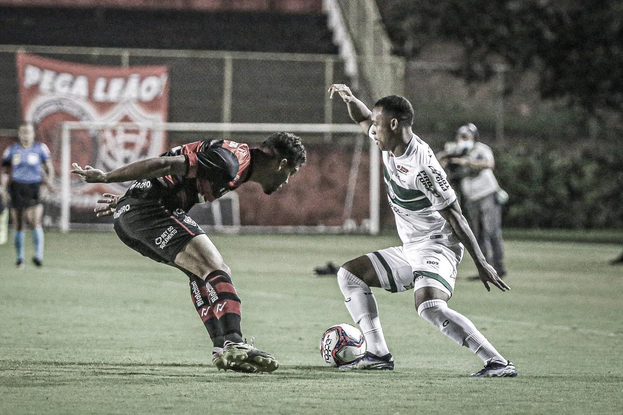 Vitória empata sem gols com Coritiba e segue na zona de rebaixamento