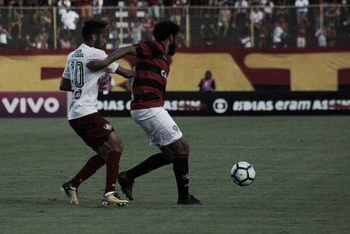 Vitória sai na frente, cede virada, mas busca empate heroico contra Fluminense no Barradão