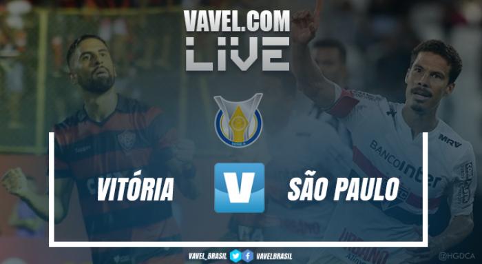 Resultado Vitória x São Paulo pelo Campeonato Brasileiro 2017 (1-2)