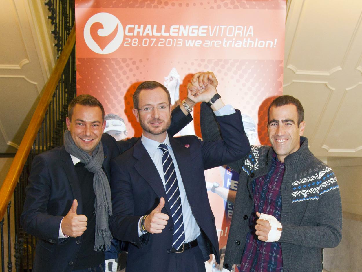 Vitoria se une al circuito mundial de triatlones Challenge