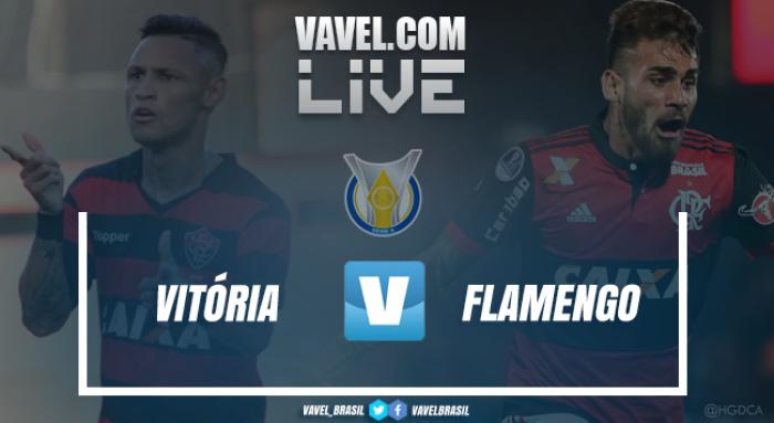 Jogo Vitória x Flamengo pelo Campeonato Brasileiro 2017 (1-2)