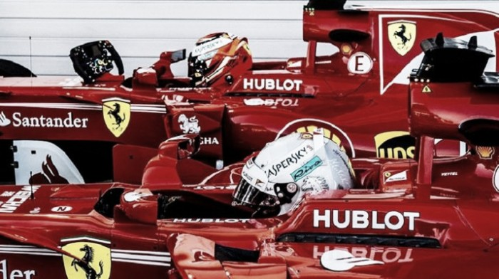 Vettel e Kimi dominam solo russo e garantem a primeira fila para a Ferrari no GP da Rússia