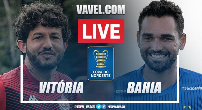 Gol e melhores momentos Vitória 1 x 0 Bahia pela Copa do Nordeste 2021