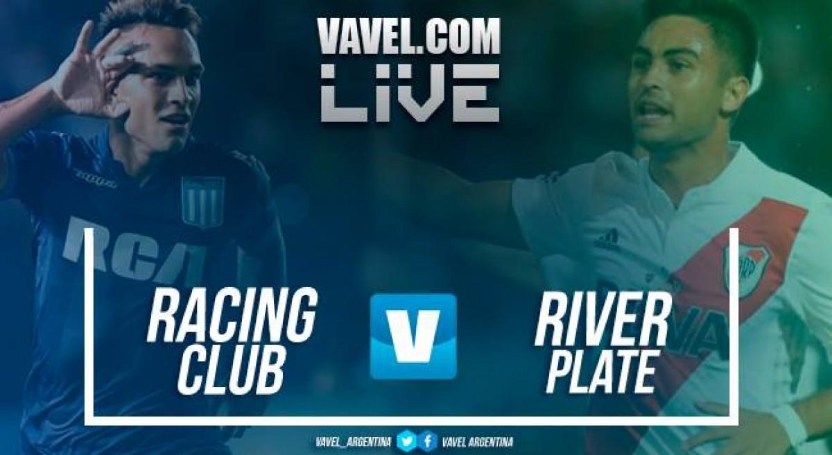 River Plate venció a Racing por 2 a 0 en un partido chivo