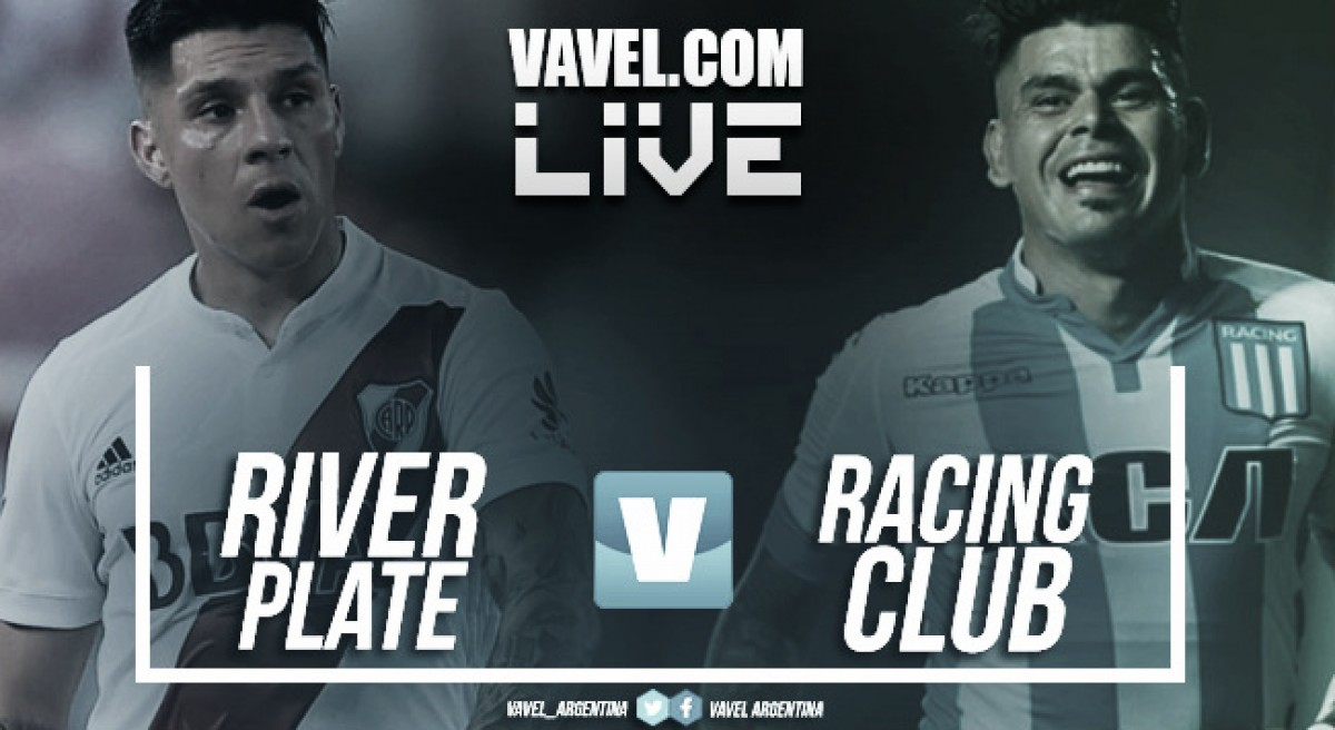 Resumen River Plate 3-0 Racing Club en Copa Libertadores