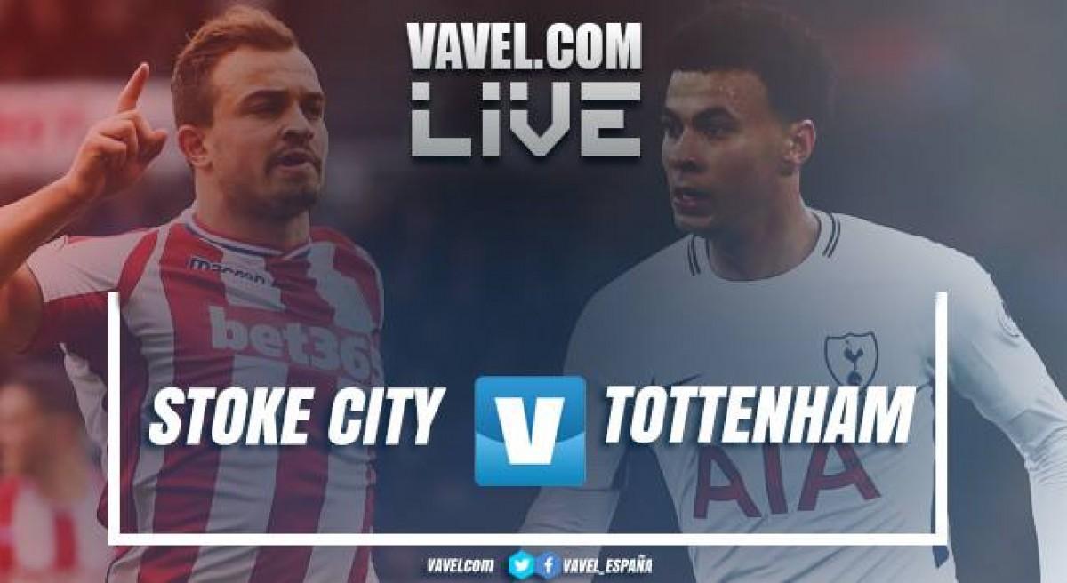 Resumen Stoke City 1-2 Tottenham en Premier League 2018