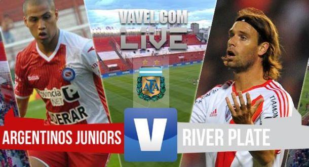 Resultado Argentinos Juniors - River Plate 2015 (1-2)