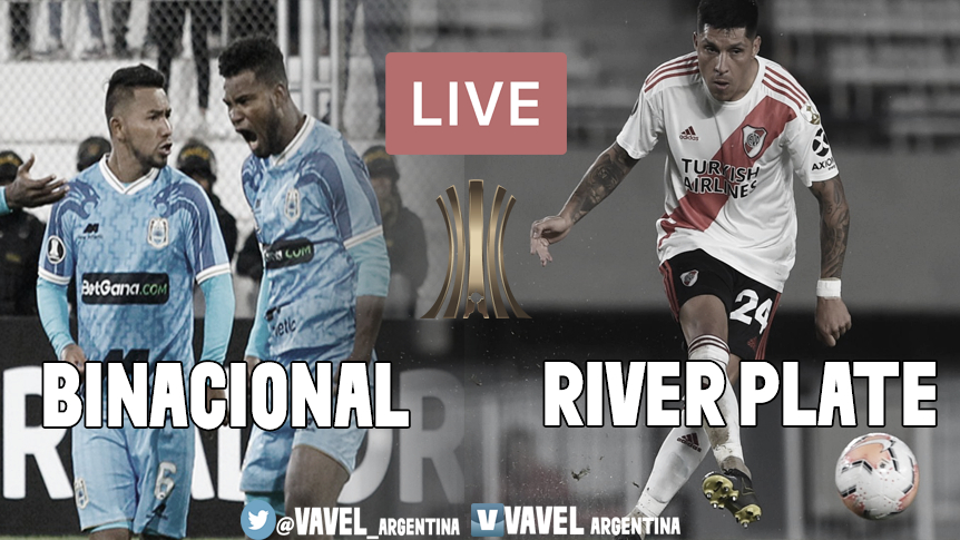 RESULTADO FINAL: Binacional vs. River Plate (0-6)