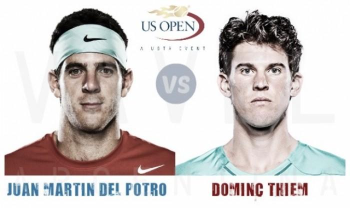 Resultado Del Potro vs Thiem por de octavos del US Open 2016: La Torre, cuartofinalista