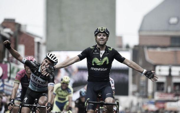 Alejandro Valverde vince la sua terza Liegi-Bastogne-Liegi. Battuti il francese Alaphilippe e Purito Rodriguez