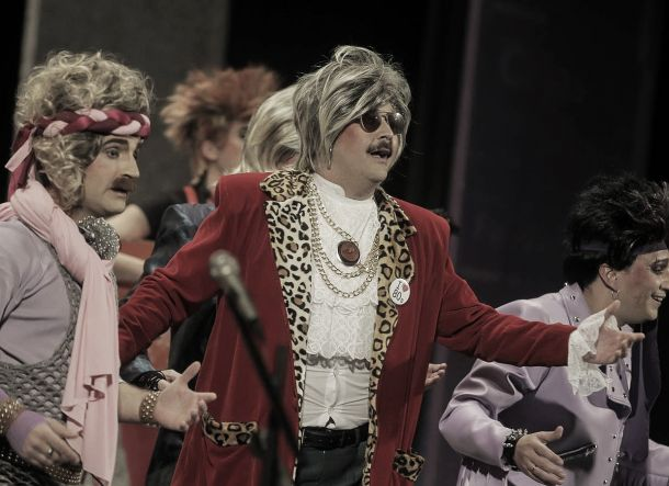 'Los Superpop' brillaron sobre las tablas del Gran Teatro Falla