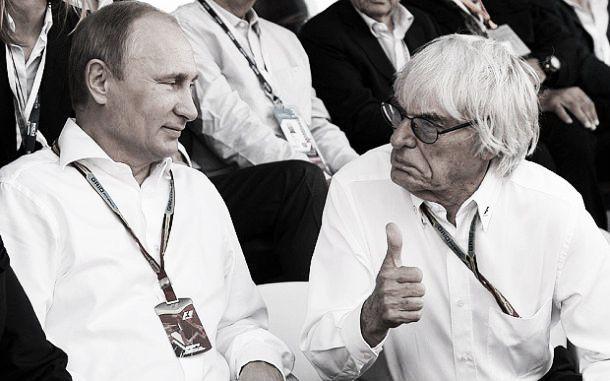 La fórmula. GP de Rusia de F1 2014: Bernie, Vladimir y los coches