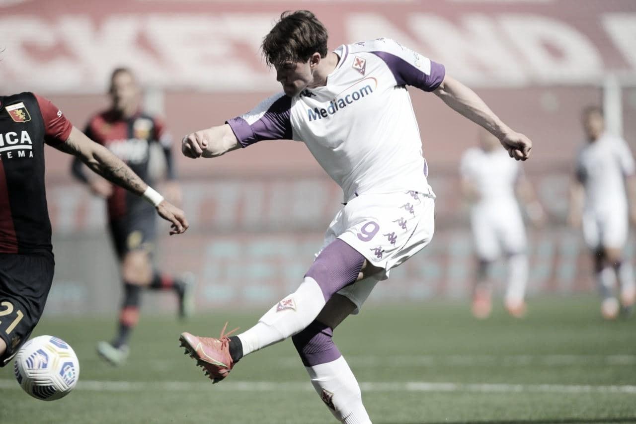 Na mira de gigantes europeus, Vlahović só deve deixar Fiorentina por 60 milhões de euros