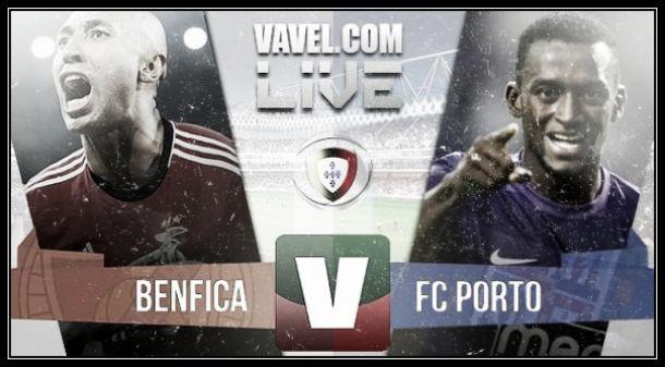 Resultado Benfica x Porto na Primeira Liga 2015 (0-0)