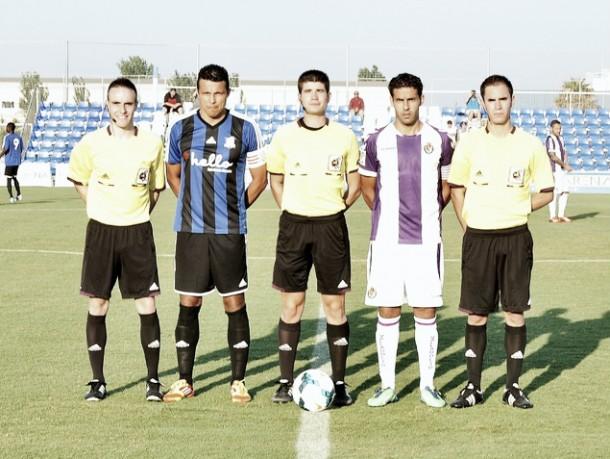 Fotogalería: Real Valladolid - Huracán Valencia, en imágenes