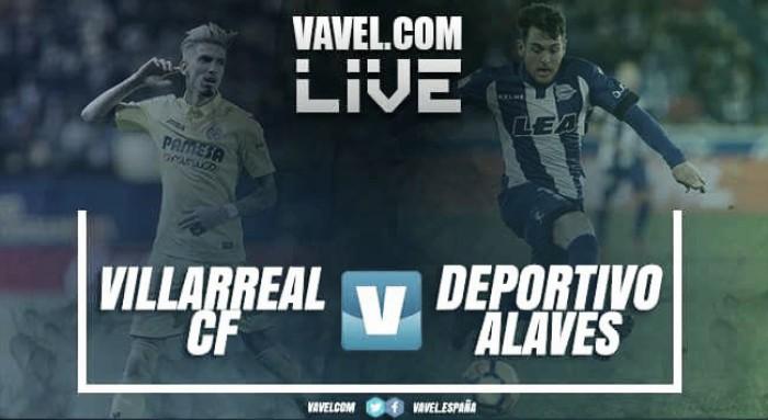 Resumen del Villarreal 1-2 Alavés en La Liga 2018