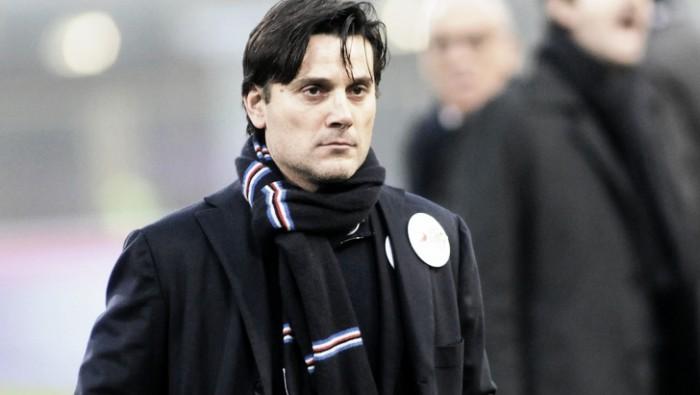 """La Sampdoria riceve la Lazio, Montella: """"Nelle ultime settimane la squadra ha trovato equilibrio"""""""