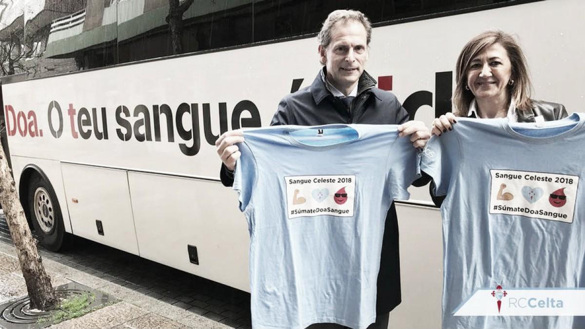 """La Fundación Celta invita a los celtistas a donar su """"Sangue Celeste"""""""