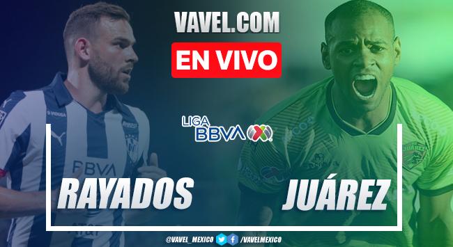 Resumen y goles: Rayados Monterrey 1-1 FC Juárez en Liga MX 2020