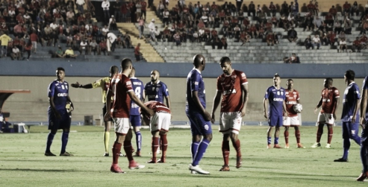 Buscando recuperação na tabela, Vila Nova enfrenta líder Fortaleza