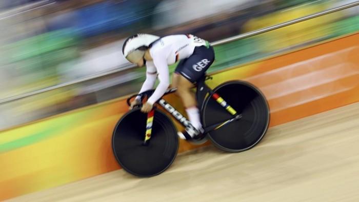 Último dia de provas do ciclismo de pista tem ouro de alemã e britânica