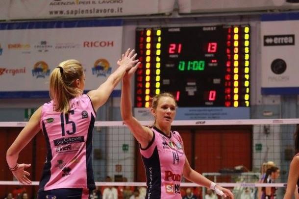 Volley A1 femminile: l'undicesima giornata