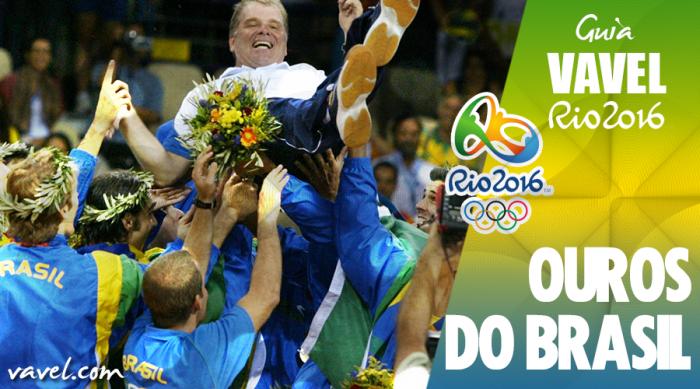Ouro Olímpico: relembre a medalha do vôlei masculino em Atenas