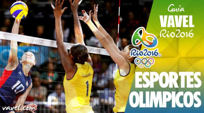 Voleibol: tudo o que você precisa saber para o Rio 2016