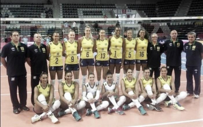 Rumo à Olimpíada: seleção feminina de Vôlei do Brasil