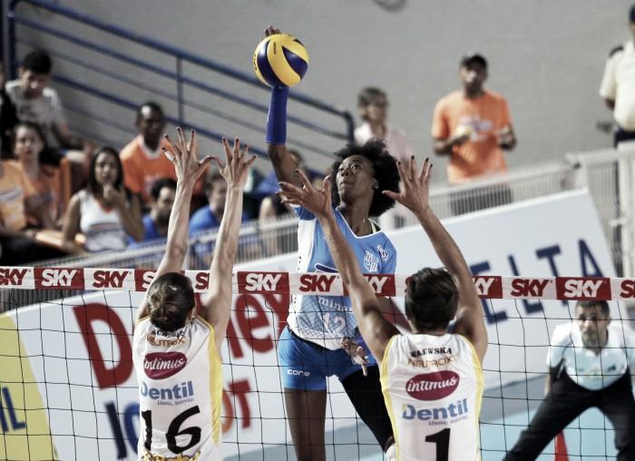 Minas bate Praia Clube em clássico mineiro e alcança quinta vitória na Superliga Feminina de Vôlei