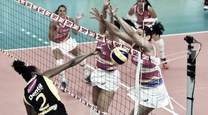 Em clássico equilibrado, Praia Clube vence Vôlei Nestlé e se consolida na vice-liderança