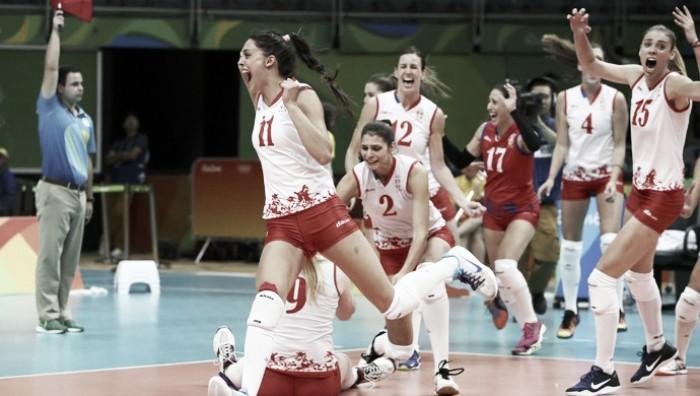 Sérvia fará final histórica no vôlei ao passar pelos Estados Unidos