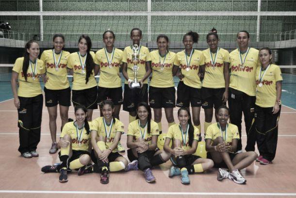 Bolívar campeón consecutivo en el XLIII Nacional Juvenil Femenino