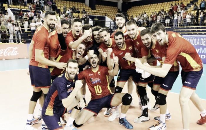 El voleibol español acaricia sus objetivos
