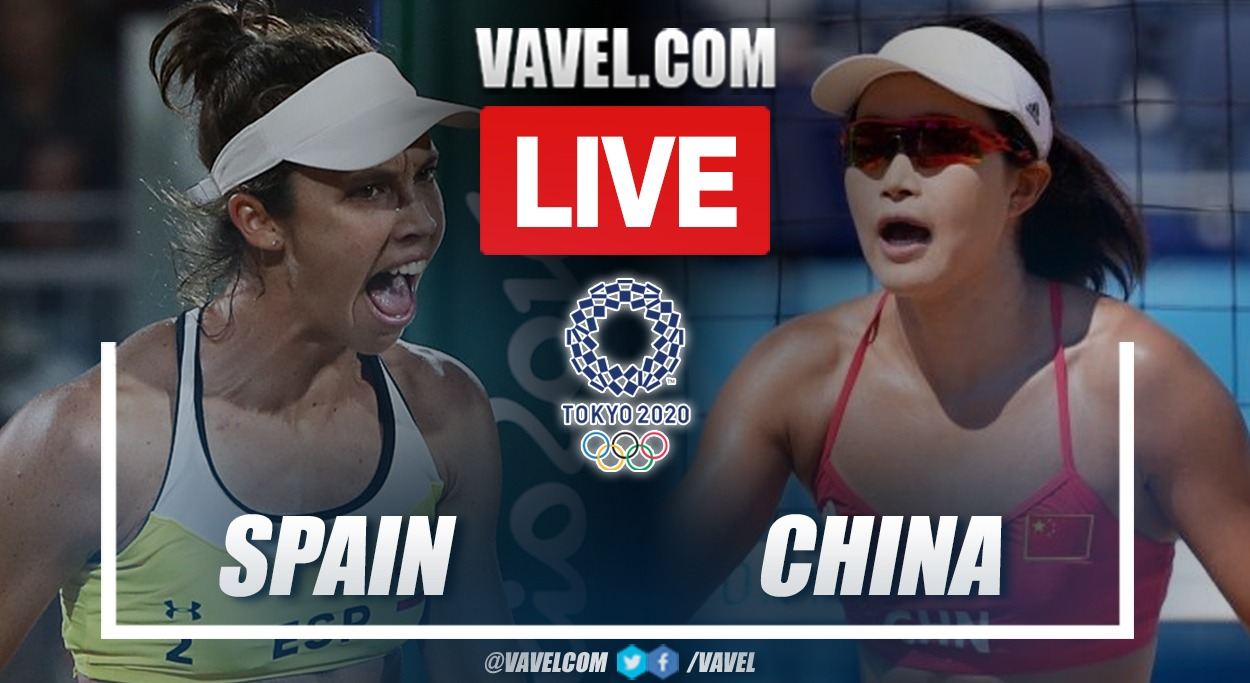 Highlights: Spain 0-2 China in Tokyo 2020 Olympics Women's Beach Volleyball
