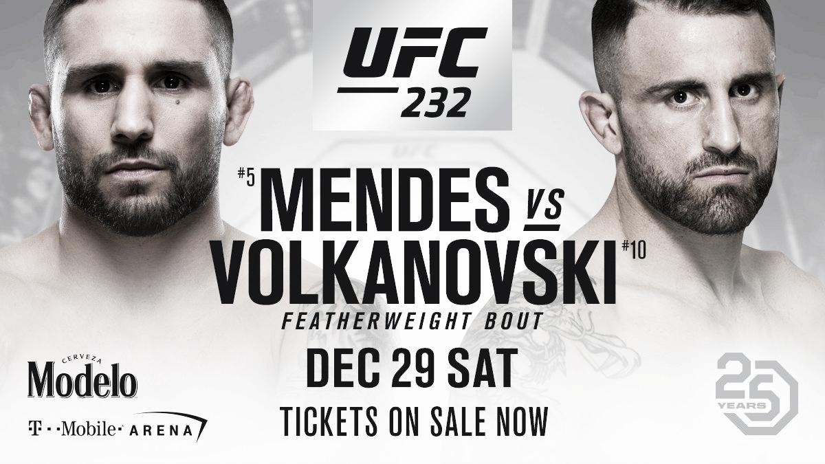 Volkanovski con confianza para su combate con Chad Mendes