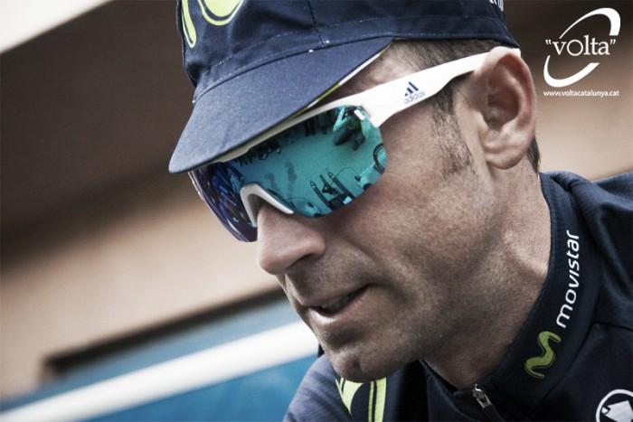 """Alejandro Valverde: """"El equipo ha estado genial, yo solo me he dedicado a esprintar"""""""
